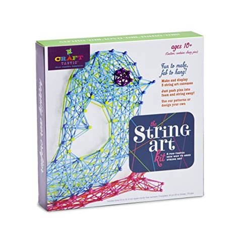 String Craft Kit - craft tastic string kit iii craft kit makes 3 large