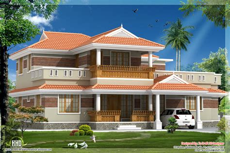 traditional looking kerala style house in 2320 sq