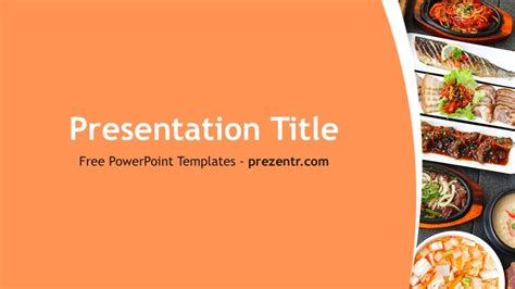 free food powerpoint template free korean food powerpoint template prezentr ppt templates