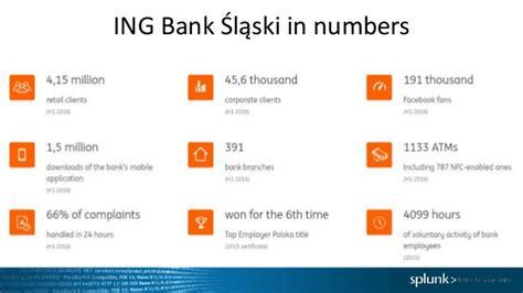 bank slaski delivering business value from operational insights at ing