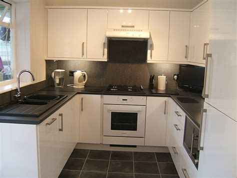 white kitchen black worktop renovating recycled ceramic tile tags granite effect