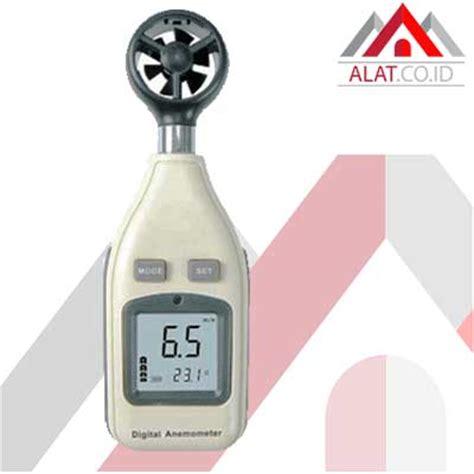 Ukur Arah Angin Serta Kecepatan Angin Anemometer Am 4836c alat ukur kecepatan angin dan suhu amf 027