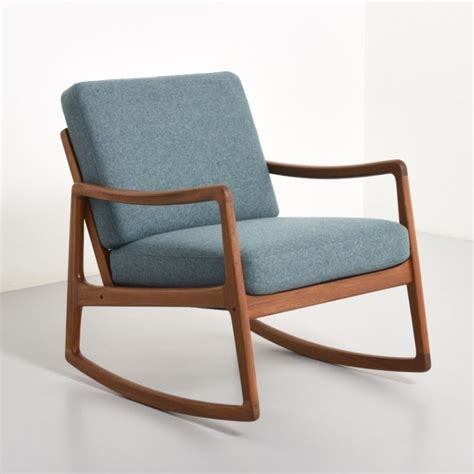 rocking chairs aj rocking chair by ole wanscher for 1950s 35064