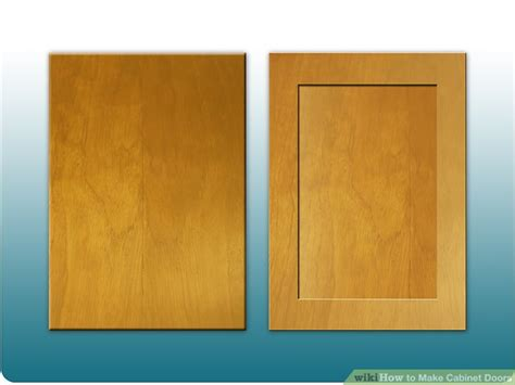 how to build plywood cabinet doors how to make cabinet doors 9 steps with pictures wikihow
