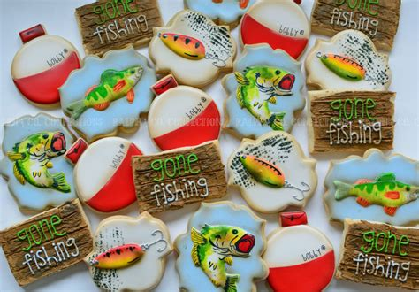 Tiny Cabin fishing cookies ralph amp co confections