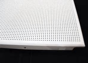 washable square perforated metal ceiling suspended