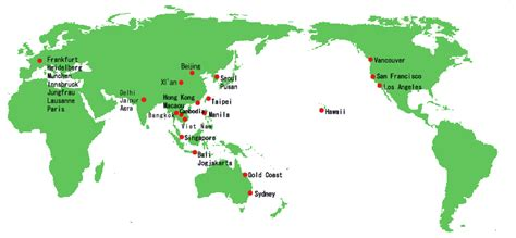 world map cities visited countries cities i ve visited