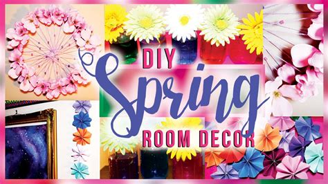 Diy Bedroom Decorating Ideas For Teens Diy Spring Room Decorations Decor For Your Room