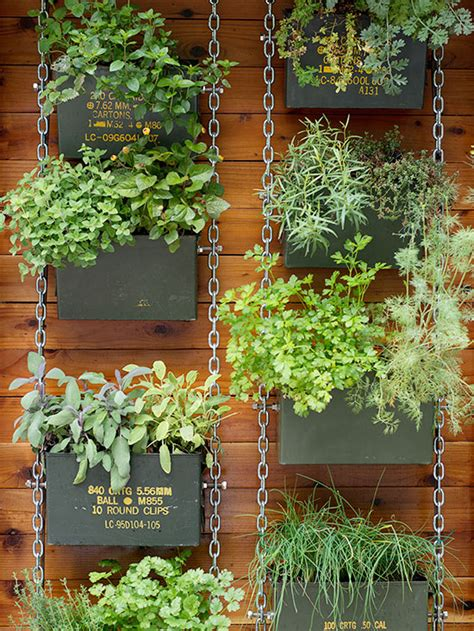 How To Make A Herb Planter by Vertical Garden Ideas
