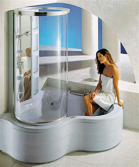 jacuzzi bathtub with shower modern hot tubs