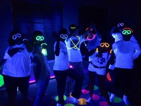 Party Themes Glow In The Dark | party themes neon party glow in the dark party ideas