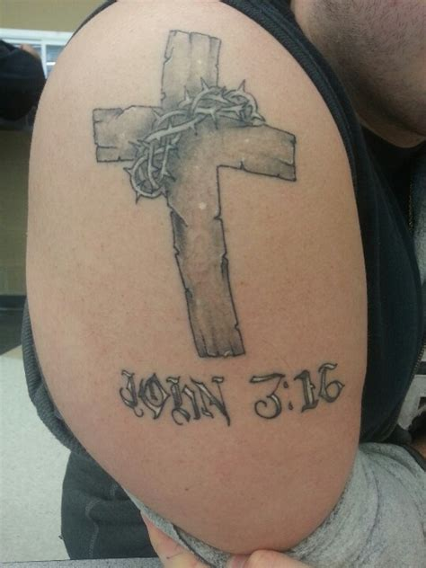 christian tattoo augusta ga i really like the cross with its rugged wooden details