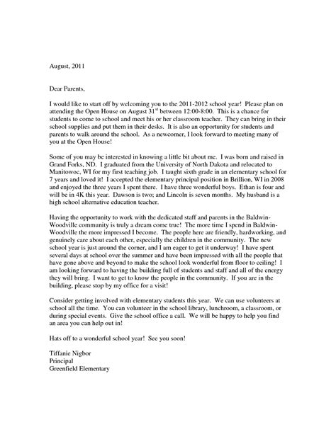 Parent Welcome Letter In Welcome Back Letter To Parents From Teachers Clipartsgram