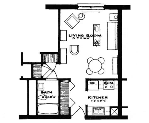 efficient studio layout small studio apartment floor plans 2430