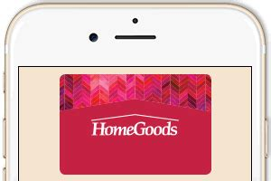 Sending Gift Cards Via Email - homegoods gift cards
