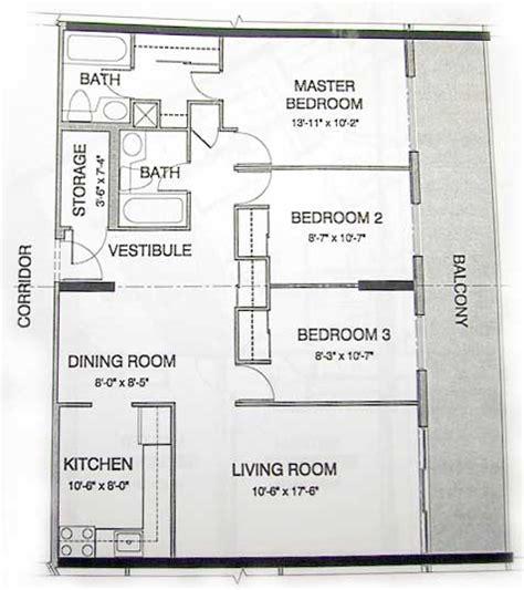 apartment floor plans with dimensions condo apartment floor plan