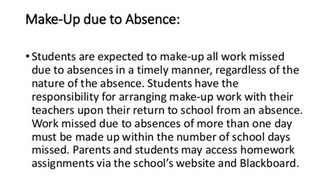 Sle Letter Absence From Work Due To Illness Maryville Junior High School Student Handbook 2014 2015 Updated