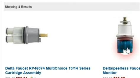 Delta Shower Faucet Valve Cartridge