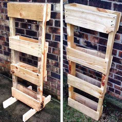 Pallet Vertical Planter pallet vertical planter pallet ideas 1001 pallets