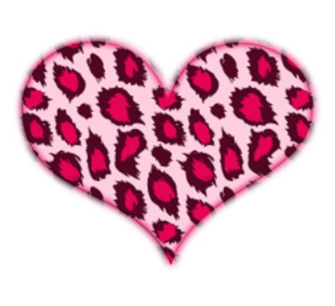 pink leopard heart by missesambervaughn on deviantart