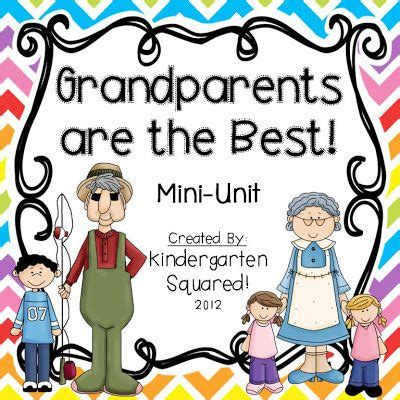 The Grandparents Book Teaching Grandmothers To Eggs by This Mini Unit Has Everything You Need For A