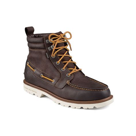 sperry boots mens sperry top sider sts11498 a o lug boot wp s boots
