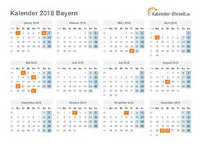 Calendar 2018 Deutschland Feiertage 2018 Bayern Kalender