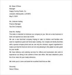 Introduction Letter Exles Business Business Letter Format 9 Free Sles Exles Format