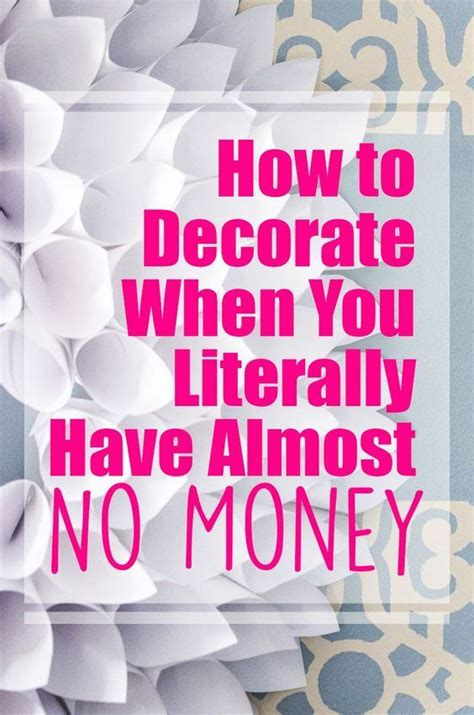 house decorating ideas on a budget moneynuggets best 25 budget home decorating ideas on pinterest home