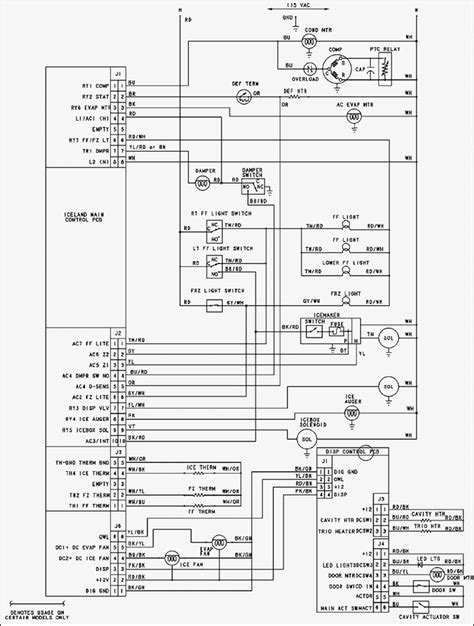refrigerator compressor wiring diagram wiring diagram