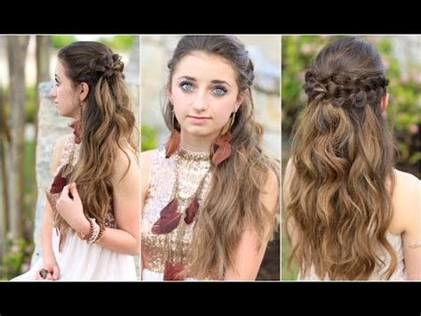braided hairstyles youtube braided half up hairstyles for prom makeup videos