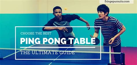 5 best small ping pong tables best ping pong table reviews table tennis comparisons 2018