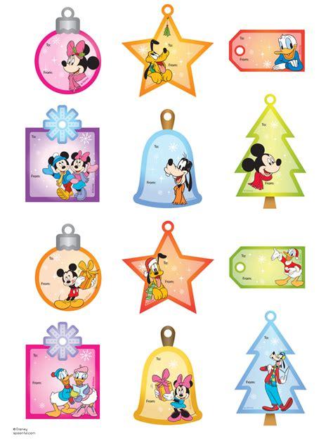 printable disney postcards mickey friends gift tags christmas tags printable