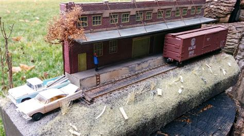 model railroad hobbyist magazine model trains model freight house diorama model railroad hobbyist magazine