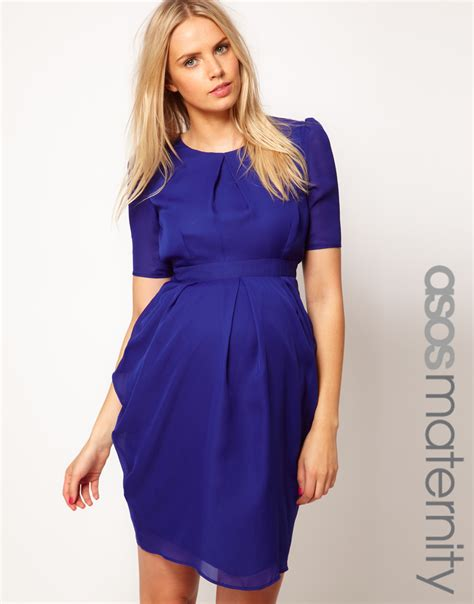 maternity i like how its styled asos maternity exclusive tulip dress i like for the