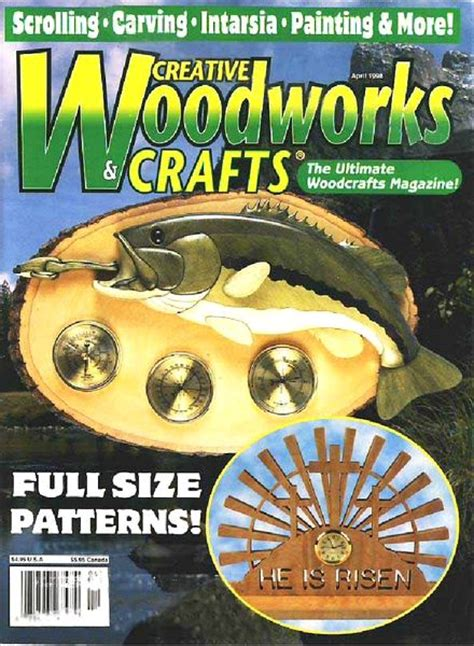 woodworks and crafts creative woodworks crafts issue 54 april