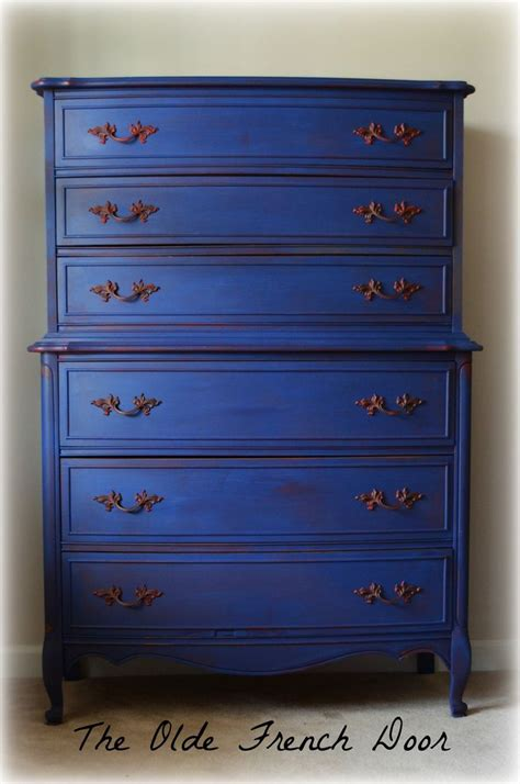 blue painted furniture 1000 ideas about napoleonic blue on pinterest annie
