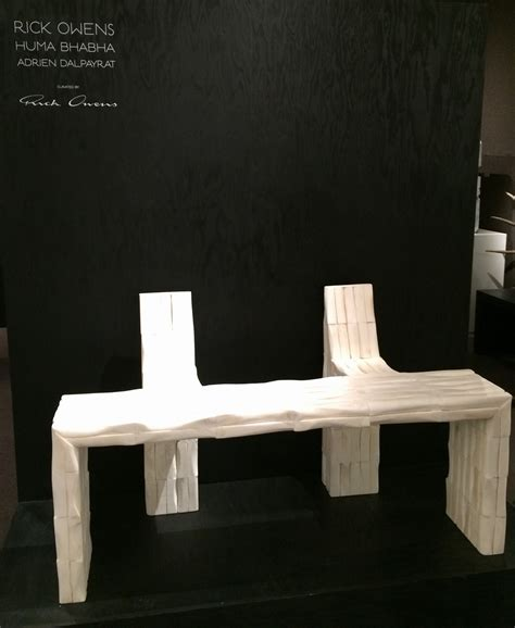 furniture design blog 3 jason jacques gallery rick owens tefaf maastricht art