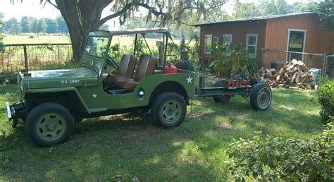 jeep samurai for sale m 38 m38 army jeep replica suzuki samurai cj3 339 miles
