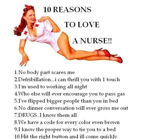 Naughty Nurse Meme - 10 reasons to love a nurse doctor jokes funny pictures