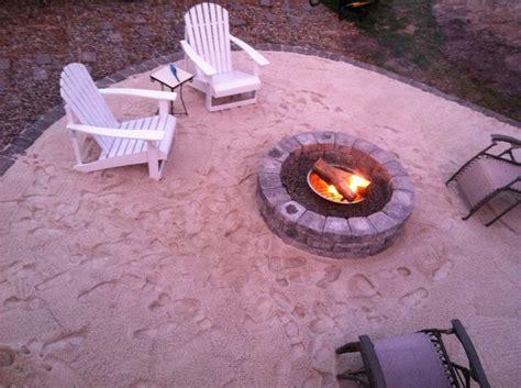 backyard beach themed fire pit backyard beach diy fire pit pikelake pinterest diy