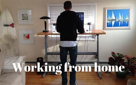 where to work home office coffee shop or coworking