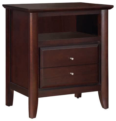 bedside table charging station city ii coco nightstand with charging station and 2