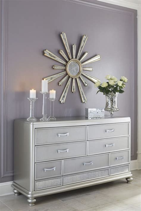 silver painted furniture bedroom 25 best ideas about silver dresser on pinterest