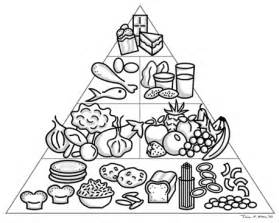 food pyramid as published by a amp c black ltd london