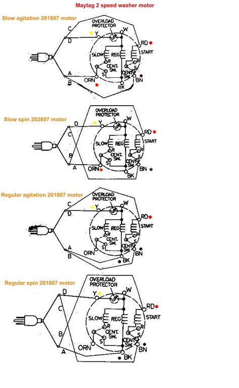maytag washer motor wiring diagram efcaviation