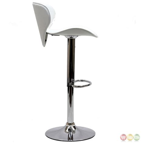 Booster Seat For Bar Stool by Booster Modern Ergonomic Winged Bar Stool W Chrome Base