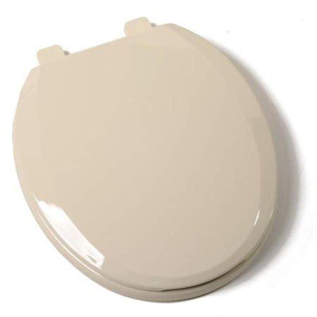 bone colored ez close standard plastic toilet seat