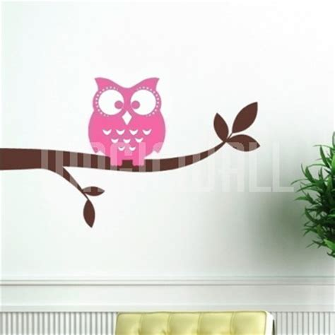 branch wall stickers owl on a branch nursery wall decals stickers canada