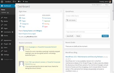 wordpress admin layout problem upcoming design changes to the wordpress admin ui